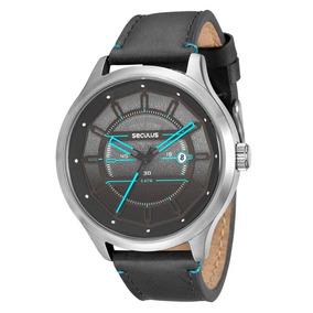 Relógio Seculus Masculino Aço 91114g1svnc1 Promoção