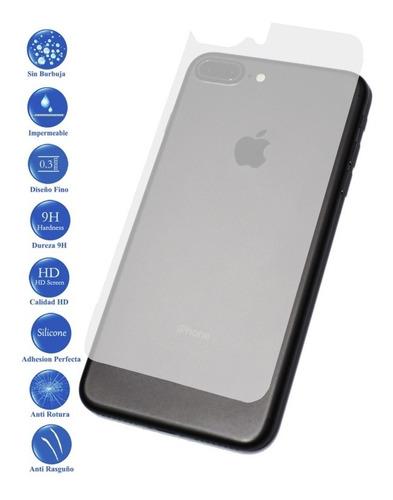 Vidrio Templado Trasero iPhone 7