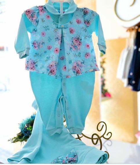 Saida Maternidade Luxo Paraiso Moda Bebe Menina Suedini 8488