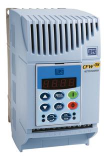 Inversor De Frequência Cfw08 3cv 10a 220v Weg Trifásico
