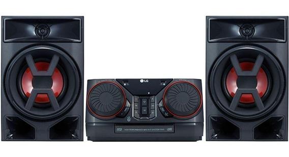 Mini System Lg Ck43 220w Rms Bluetooth Usb Entrada Auxiliar