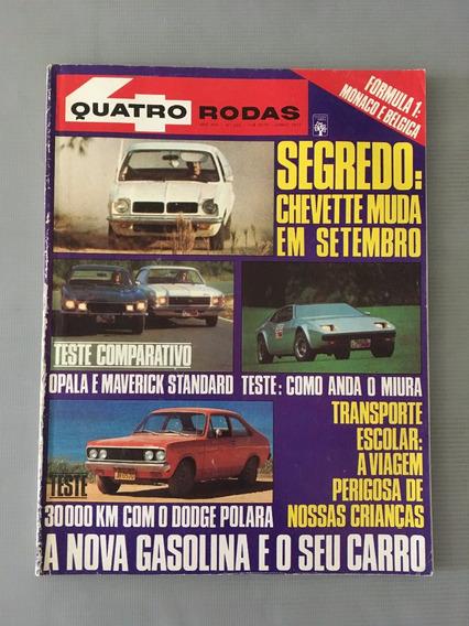 Revista Quatro Rodas - Junho 1977 - Nº 203 Chevette