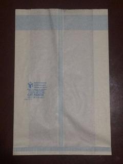 Bolsas Para Esterilizar 100 Piezas 25 X 38 X 8 Cm