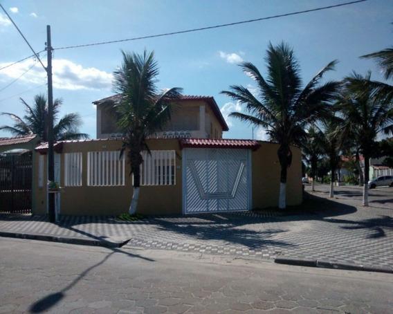 Sobrado Em Balneário Flórida Mirim, Mongaguá/sp De 404m² 4 Quartos À Venda Por R$ 850.000,00 - So336049