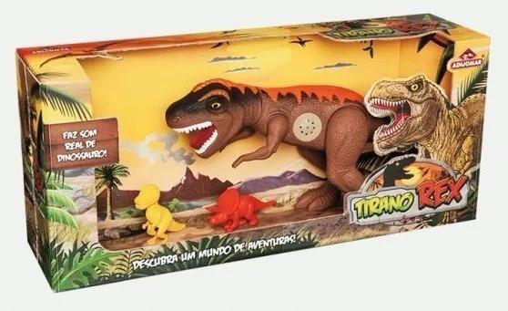 Dinossauro Com Som Tirano Rex - Adijomar Pronta Entrega