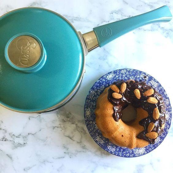 Cacerola Con Antiadherente 18 Cm Mango Essen Aqua