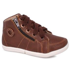 Tênis/bota Infantil Klin 117086 Chocolate