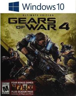 Gears Of War 4 Ultimate Pc Windows 10 Modo Conectado