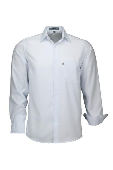 Camisa Microleve Manga Longa - Branca - Ref 832