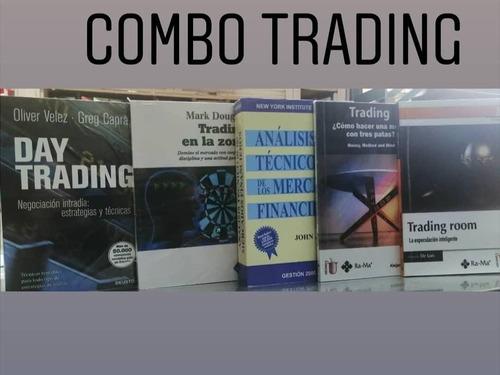 Imagen 1 de 1 de Combo Trading Por 5