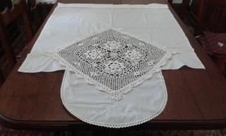 Visillo Con Crochet !! Hermoso !!