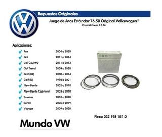 Juego De Aros Original Volkswagen® Fox Gol Golf Suran Voyage