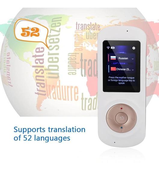 Tradutor De Voz T2s Original Portátil - Tradução Simultânea