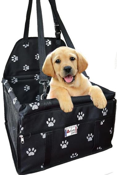 Bolsa Cadeirinha Luxo Transporte Cães Gato No Assento Carro