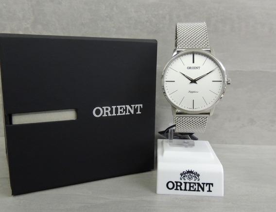 Relógio Orient Sapphire Slim Masculino Mbsss007 S1sx - Nf