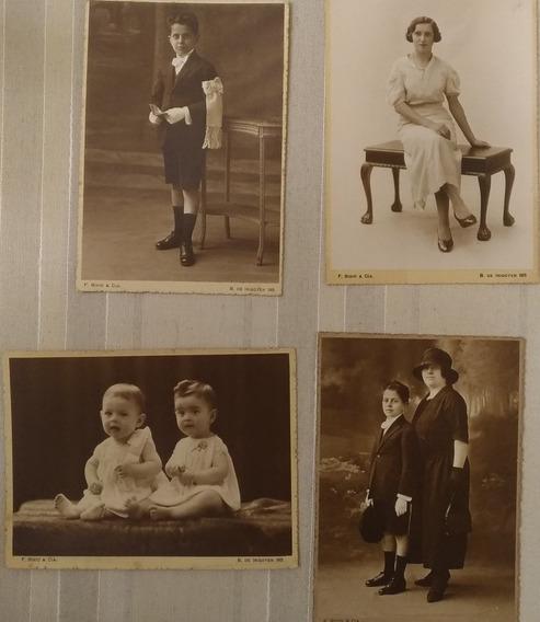 Lote De 4 Fotos Postales De F. Bixio & Cía. - Década De 1920