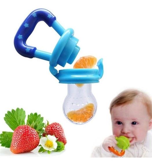 Alimentadora Bico Silicone Mordedor Bebê Frutas Chupeta