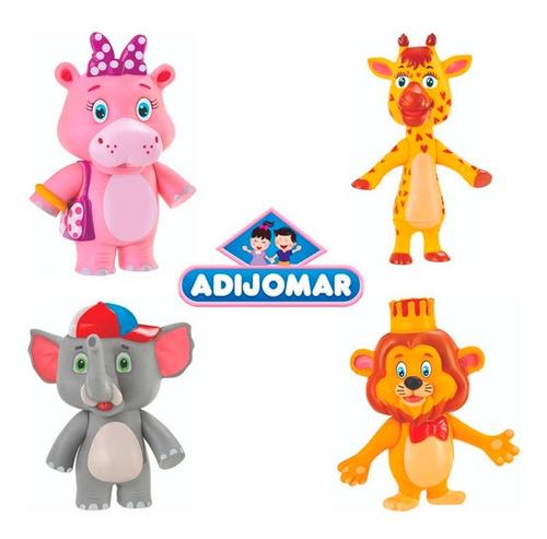 Bonecos Da Turma Da Giramille - C/ 4 Personagens - Adijomar
