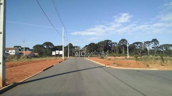 Terreno À Venda, 124 M² Por R$ 77.200,00 - Estados - Fazenda Rio Grande/pr - Te0090