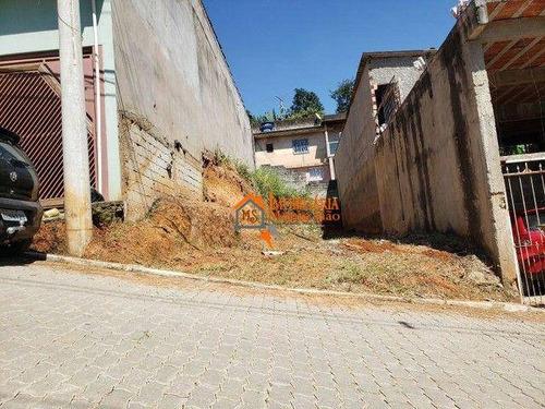 Imagem 1 de 4 de Terreno À Venda, 150 M² Por R$ 90.000,00 - Chácara Cabuçu - Guarulhos/sp - Te0090