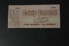 Deep Purple Porto Alegre Ingresso