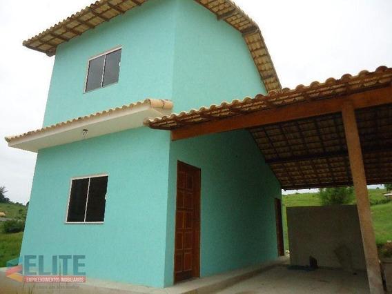 Casa Duplex Para Venda Em Saquarema, Bacaxá, 2 Dormitórios, 2 Banheiros, 1 Vaga - E067