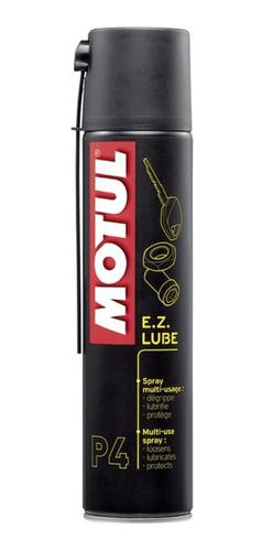 Imagem 1 de 1 de Motul P4 Ez Lube Spray Lubrificante 400ml