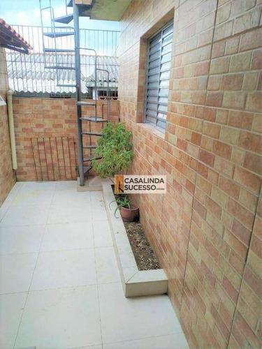 Imagem 1 de 15 de Casa Com 2 Dormitórios À Venda, 90 M² Por R$ 380.000 - Chácara Belenzinho - São Paulo/sp - Ca6265