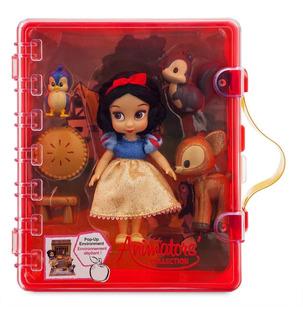 Disney Store Maletín Blancanieves Animators Mini Accesorios