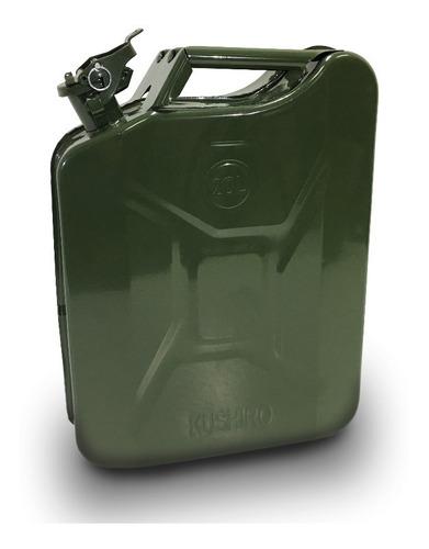 Bidón De Chapa 20 Litros Para Combustible + Pico Vertedor