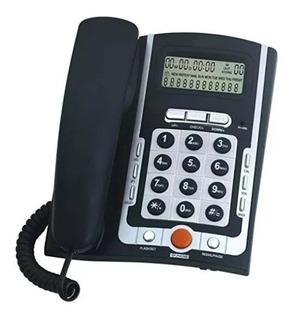 Telefono Fijo De Mesa Pared Altavoz Identificador Winco 6070