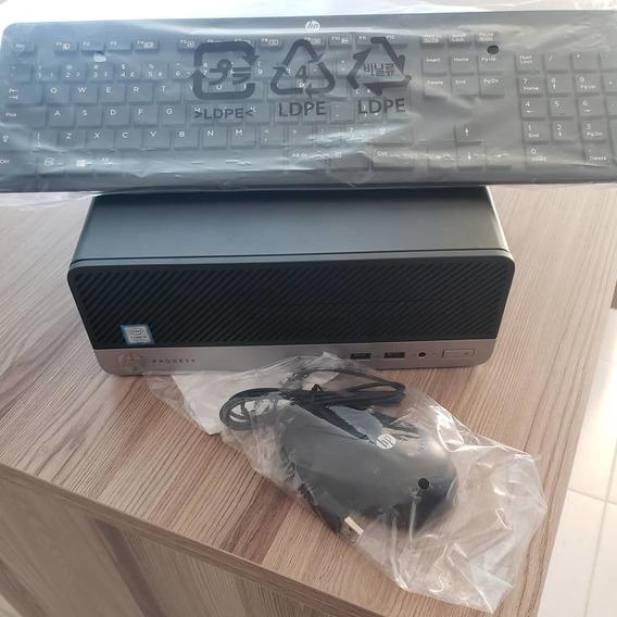 Computador Hp Prodesk 400 G4 I3 - Com Teclado E Mouse Hp.