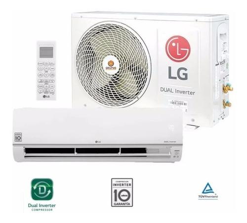 Imagen 1 de 9 de Aire Acondicionado Split LG Inverter Dual Cool 3000 F/c