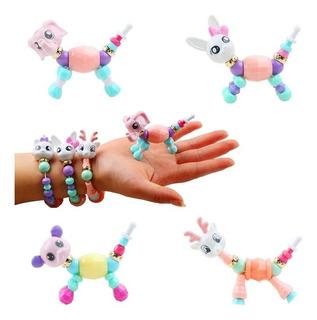Pulsera Brazalete Collar Magica Pets Transformable Juguete