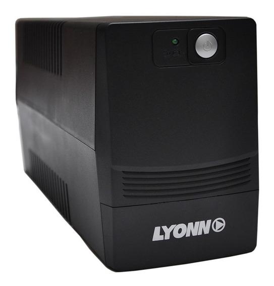 Ups + Estabilizador Lyonn 800va 800w 800va Software Mexx
