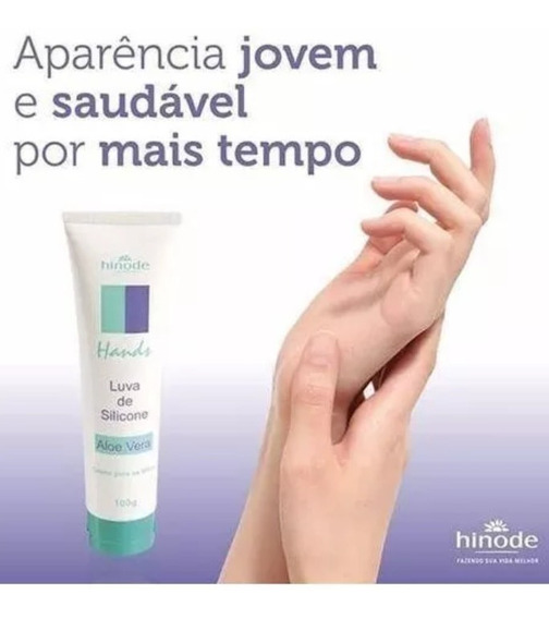Luva De Silicone Creme Para As Mãos Protetor!