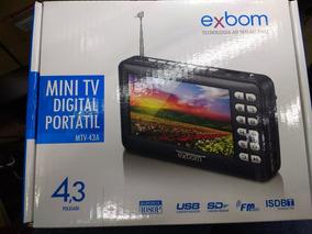 Mini Tv Digital 4.3 Portátil