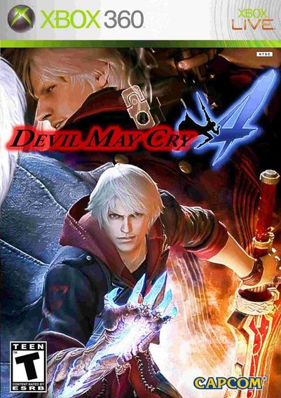 Devil May Cry 4 Xbox 360 Lacrado Mídia Física