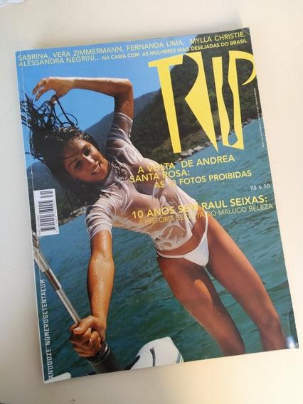 Revista Trip 71 Andréa Santa Rosa Raul Seixas Fernanda Lima