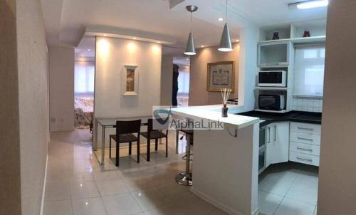 Imagem 1 de 16 de Apartamento Com 2 Dormitórios À Venda, 89 M² Por R$ 650.000,00 - Alphaville - Barueri/sp - Ap1777