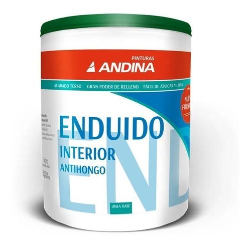 Enduido Interior Andina X 4 Lts Pintumm