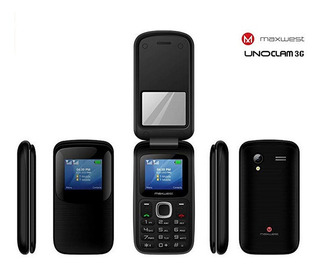 Teléfono Celular Maxwest Uno Clam X1