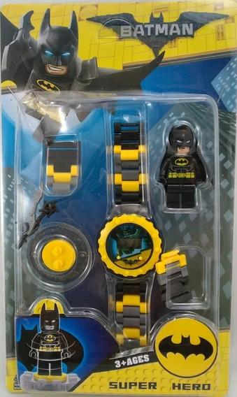 Relogio Infantil De Montar Batman