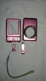 Carcaça Câmera Digital Samsung Es70 / Rosa