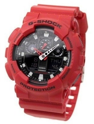Relógio Casio G-shock Ga100b4adr Original Pronta Entrega