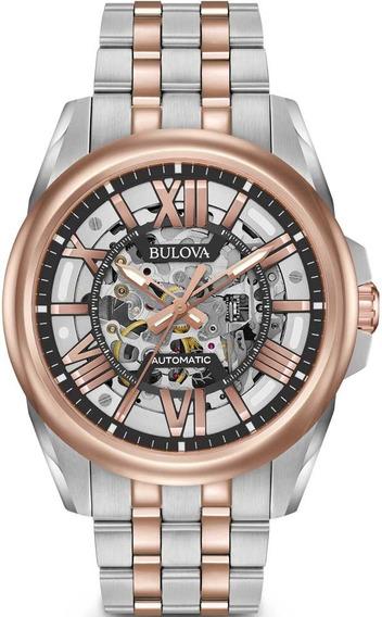 Relógio Bulova Masculino Automático 98a166