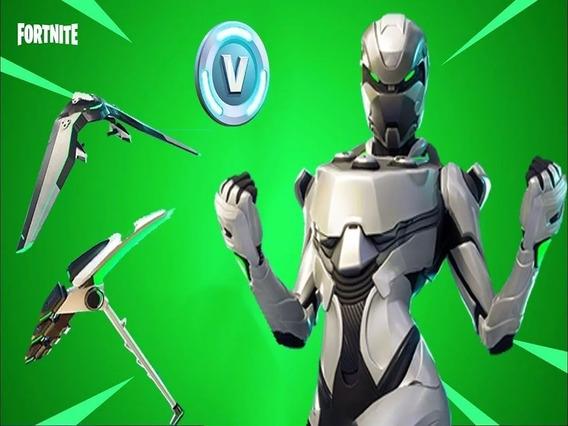 Fortnite Eon Skin 2000 V-bucks + Save The World Key Ps4 Xbox
