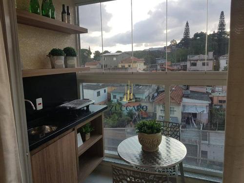 Apartamento Com 2 Dormitórios À Venda, 50 M² Por R$ 285.121 - Jardim Munhoz - Guarulhos/sp - Ap14905