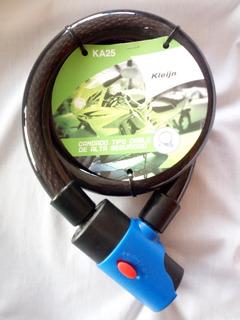 Candado De Alta Seguridad Tipo Cable Con Alarma Protegido Ex