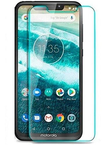 Imagen 1 de 3 de Vidrio Templado Motorola Moto E5 E6 G6 G7 G8 Plus Power Play